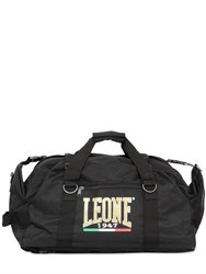 Leone 1947 Nylon Ripstop Duffle Gym Backpack