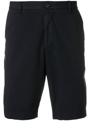 Hugo Boss Tailored Fitted Shorts Blue