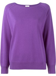Dries Van Noten Nakira Jumper Pink And Purple
