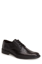 Josef Seibel Plain Toe Derby Men Black
