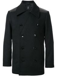 Kent And Curwen Double Breasted Jacket Black