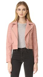 Blank Pretty In Pink Moto Jacket