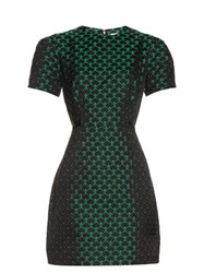 Mary Katrantzou Azurite Short Sleeved Jacquard Dress