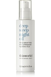 This Works Deep Sleep Night Oil Colorless