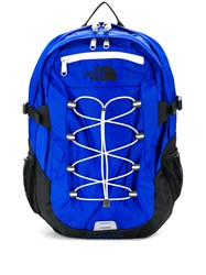 The North Face Drawstring Backpack Blue