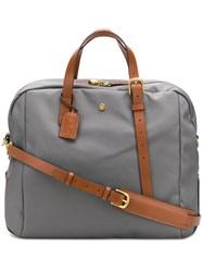 Mismo Contrast Handles Holdall Grey