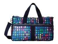 Le Sport Sac Large Weekender Color Blocks Weekender Overnight Luggage Navy