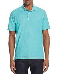 Robert Graham Stellar Classic Fit Polo Shirt 100 Bloomingdale's Exclusive Heather Sea Green