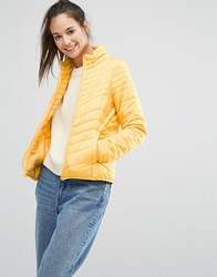 Only Padded Jacket Yolk Yellow