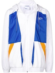 Reebok Colour Block Jacket White