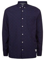 Penfield Weaver Long Sleeve Shirt Navy