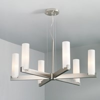 Illuminating Experiences Elf 15 Chandelier Silver