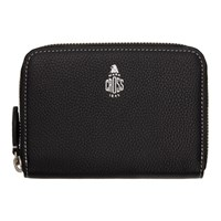 Mark Cross Black Small Grain Grace Wallet