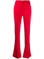 Patrizia Pepe High Waisted Flared Trousers 60