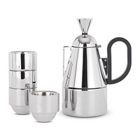Tom Dixon Brew Stove Top Gift Set Stainless Steel