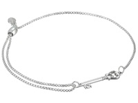 Alex And Ani Precious Ii Collection Skeleton Key Adjustable Bracelet Sterling Silver Finish Bracelet