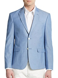 Tommy Hilfiger Regular Fit Chambray Sportcoat