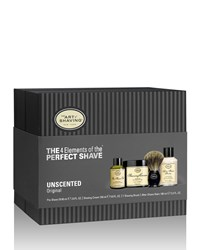 4 Elements Of The Perfect Shave Full Size Kit Unscented Black The Art Of Shaving