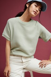 Anthropologie Dorian Sweatshirt Green