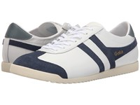 Gola Bullet Leather White Navy Men's Shoes