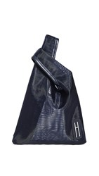 Hayward Mini Shopper With Pouch Navy Pink