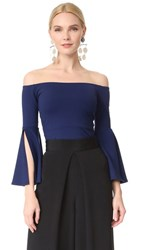 Susana Monaco Sidney Off The Shoulder Top Inkwell