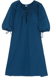 Eres Zephyr Mimsy Cotton Jersey Dress Blue