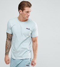Fila Vintage Lounge T Shirt With Logo In Green