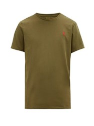 Polo Ralph Lauren Slim Fit Cotton Jersey T Shirt Green
