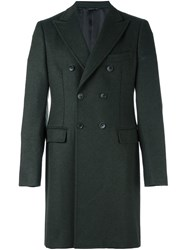 Tonello Double Breasted Coat Green