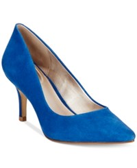 Alfani Women's Step 'N Flex Jeules Pumps Only At Macy's Women's Shoes Violet Blue
