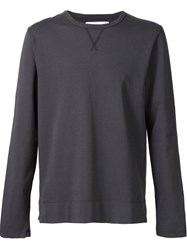 Officine Generale Classic Sweatshirt Black