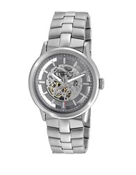 Kenneth Cole Mens Automatic Stainless Steel Watch Silver