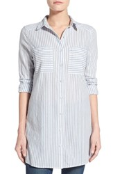 Women's Caslon Cotton Tunic Shirt