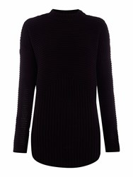 Label Lab Trooper Travelling Rib Jumper Black