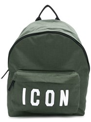 Dsquared2 Icon Backpack Green