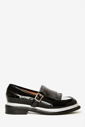Nasty Gal Jeffrey Campbell Yarmouth Patent Leather Oxford