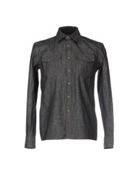Meltin Pot Denim Shirts Black