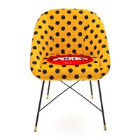 Seletti Wears Toiletpaper Upholstered Padded Chair Sh T
