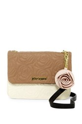 Betsey Johnson Faux Leather Crossbody Red