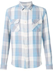 Levi's Vintage Clothing Checked Shirt Blue