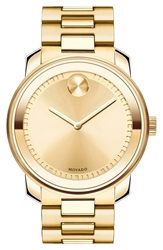 Movado 'Bold' Bracelet Watch 43Mm Gold