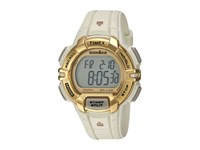 Timex Ironman Rugged 30 Hollywood Full Size Resin Strap White Gold Tone Watches