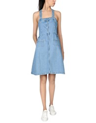Steve J And Yoni P Overall Skirts Blue