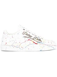 Philipp Plein Accused Sneakers White