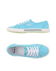 Pepe Jeans Footwear Low Tops And Trainers Women Turquoise