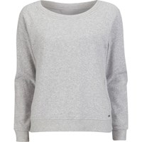 Ugg Australia Women's Heritage Comfort Morgan Lounge Top Seal Heather Grey