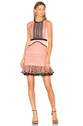 Three Floor Sun Down Dress Pink