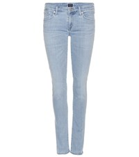 Citizens Of Humanity Racer Low Rise Skinny Jeans Blue