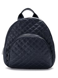 Mara Mac Quilted Leather Bag Blue